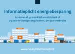 Informatieplicht energiebesparende maatregelen
